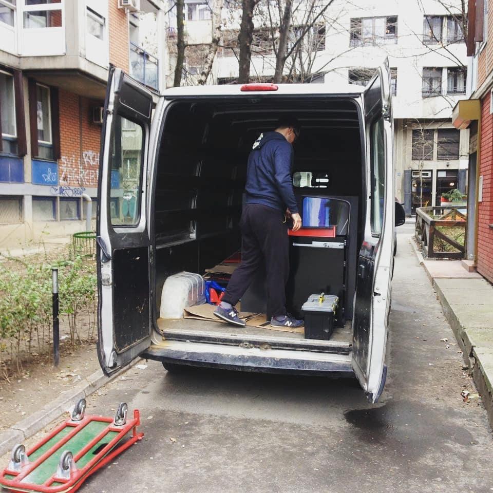 MG selidbe i prevoz u Beogradu